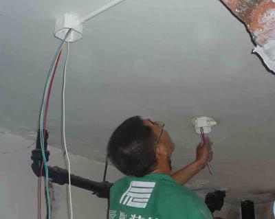 楼房照明布线图; 房屋水电安装设计图_家居水电安装设计图,水电安装
